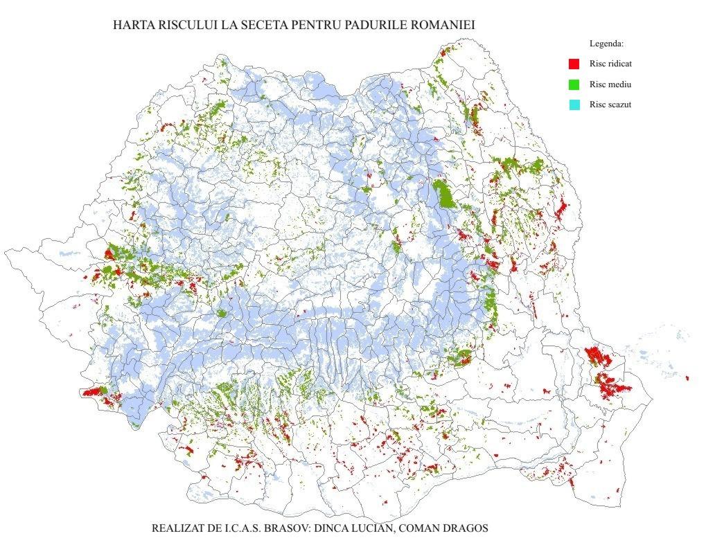Harta Digitala Privind Riscul La Seceta
